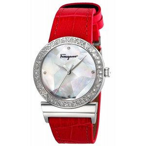 サルヴァトーレ フェラガモ Salvatore Ferragamo 腕時計 ウォッチ GRANDEMAISON ホワイトパール文字盤 FG2160014 レディース [並行輸入品]|ginza-sacomdo