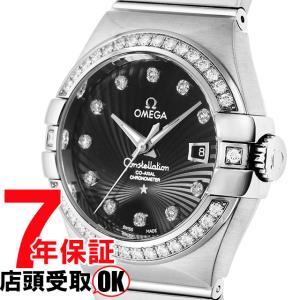 [7年保証] OMEGA オメガ 腕時計 ウォッチ コンステレーション ブラック文字盤  コーアクシャル自動巻 123.55.31.20.51.001 レディース ウォッチ[並行輸入品]|ginza-sacomdo