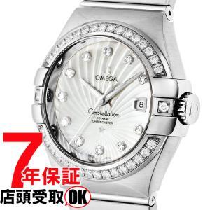 OMEGA オメガ 腕時計 ウォッチ コンステレーション ホワイトパール文字盤 コーアクシャル自動巻 123.55.31.20.55.003 レディースウォッチ [並行輸入品]|ginza-sacomdo