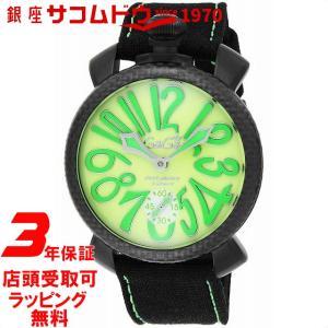 [3年保証]ガガミラノ GaGa Milano 腕時計 ウォッチ マニュアーレ48mm ファブリックベルト 手巻き スイス製 5016.11S-BLK メンズ 並行輸入品|ginza-sacomdo