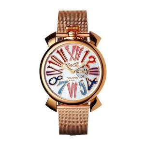 GaGaMILANO ガガミラノ メンズ 腕時計 クオーツ スリム46 プラカットオロ 5081.01 [並行輸入品]|ginza-sacomdo