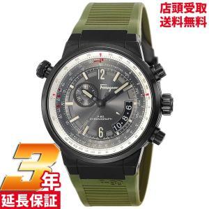 サルヴァトーレ フェラガモ Salvatore Ferragamo 腕時計 ウォッチ F-80 グレー文字盤 FQ2010013 メンズ [並行輸入品]|ginza-sacomdo