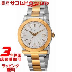 [サルヴァトーレフェラガモ]Salvatore Ferragamo 腕時計 フェラガモ1898 シルバー文字盤 FF3070014 メンズ 【並行輸入品】|ginza-sacomdo