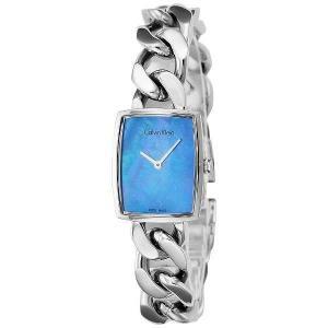 [3年保証] Calvin Klein カルバンクライン 腕時計 K5D2L12N ウォッチ シーケー アメーズ ブルーパール レディス  k5d2l1-2n|ginza-sacomdo