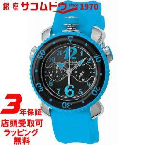 [3年保証][ガガミラノ]GaGaMILANO 腕時計 CHRONOSPORTS45MM ブラック文字盤 7010.03 メンズ [並行輸入品]|ginza-sacomdo