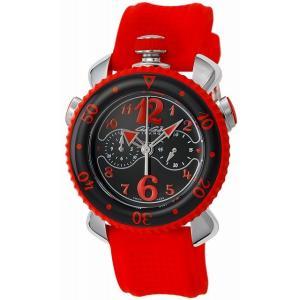 [3年保証][ガガミラノ]GAGA MILANO 腕時計 CHRONO SPORTS 45MM ブラック文字盤 100m防水 7010.05 メンズ [並行輸入品]|ginza-sacomdo