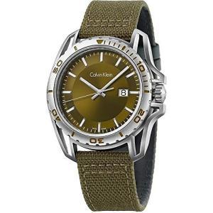 [3年保証] Calvin Klein カルバンクライン 腕時計 ウォッチ ck アース カーキ メンズ K5Y31XWL[並行輸入品]|ginza-sacomdo