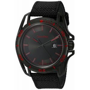 [3年保証] Calvin Klein カルバンクライン 腕時計 ウォッチ ck Earth (アース) オールブラック×レッド メンズ K5Y31ZB1[並行輸入品]|ginza-sacomdo