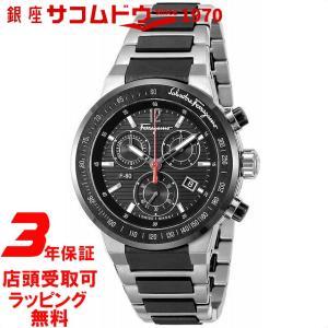 [フェラガモ]Salvatore Ferragamo 腕時計 F-80 ブラック文字盤 F55030014 メンズ 【並行輸入品】|ginza-sacomdo