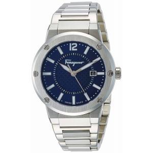 サルヴァトーレ フェラガモ Ferragamo F-80 クオーツ メンズ 腕時計 FIF030015 ブルー[並行輸入品]|ginza-sacomdo