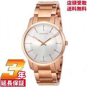 [3年保証] Calvin Klein カルバンクライン 腕時計 ウォッチ ck K2G21646 メタルベルト ローズゴールド/city / シティ メンズ  CK/シーケー[並行輸入品]|ginza-sacomdo