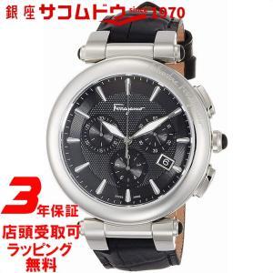 [フェラガモ]Ferragamo 腕時計 イディリオ ブラック文字盤 FCP010017 メンズ 【並行輸入品】|ginza-sacomdo