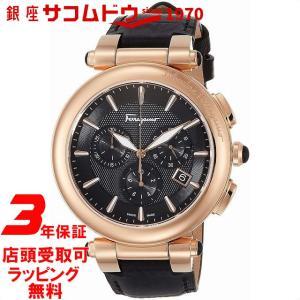 [フェラガモ]Ferragamo 腕時計 イディリオ ブラック文字盤 FCP060017 メンズ 【並行輸入品】|ginza-sacomdo