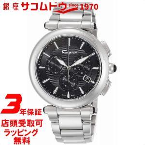 [フェラガモ]Ferragamo 腕時計 イディリオ ブラック文字盤 FCP070017 メンズ 【並行輸入品】|ginza-sacomdo