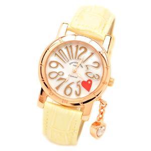 pierretalamon ピエールタラモン ジルコニアチャーム ラウンド型 レザーベルト 天然ダイヤ1石 シェル 腕時計 レディース[PT-1000L-2]|ginza-sacomdo