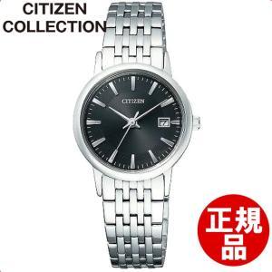 シチズン 腕時計 Citizen Collection シチズン コレクション Eco-Drive エコ・ドライブ ペアモデル EW1580-50G レディース[4580376424281-EW1580-50G]|ginza-sacomdo