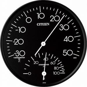 CITIZEN シチズン リズム時計工業 RHYTHM クロック 温度湿度計掛タイプ TM109 9CZ057-002|ginza-sacomdo