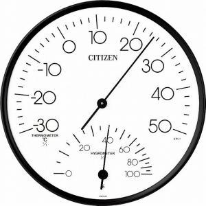 CITIZEN シチズン リズム時計工業 RHYTHM クロック 温度湿度計掛タイプ TM109 9CZ057-003 ginza-sacomdo
