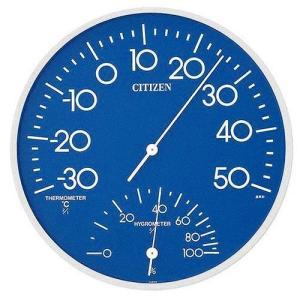 CITIZEN シチズン  RHYTHM  リズム時計 温度湿度計掛タイプ TM-108 9CZ056-004|ginza-sacomdo
