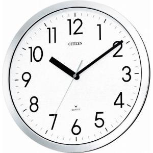 CITIZEN シチズン リズム時計工業 RHYTHM クロック 防湿防塵タイプ掛時計 スペイシーM522 4MG522-050|ginza-sacomdo