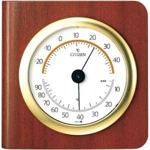 CITIZEN シチズン リズム時計工業 RHYTHM クロック  温度湿度計掛置兼用タイプ TM148 9CZ094-006|ginza-sacomdo