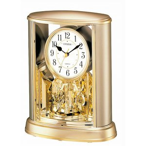 CITIZEN シチズン リズム時計工業 RHYTHM クロック 置き時計 サルーン 4SG724-018|ginza-sacomdo