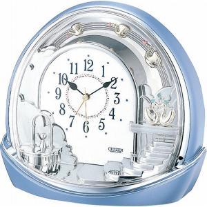 CITIZEN シチズン リズム時計工業 RHYTHM クロック 置き時計 シルエットロマンス443 4SE443-004|ginza-sacomdo