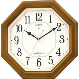 CITIZEN シチズン リズム時計工業 RHYTHM クロック掛け時計 ネムリーナルック 電波時計 4MY645-006 [4903456137145-4MY645-006]|ginza-sacomdo