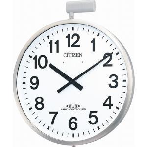 CITIZEN シチズン リズム時計工業 RHYTHM クロック 掛け時計 パルウエーブM611B 大型掛け時計(屋外用) 4MY611-B19|ginza-sacomdo