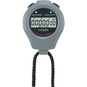 CITIZEN シチズン リズム時計工業 RHYTHM クロック ストップウォッチL グレー 8RDA04-008|ginza-sacomdo