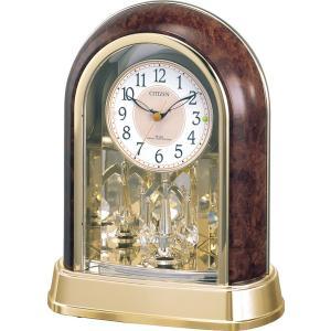 CITIZEN シチズン リズム時計工業 RHYTHM クロック 置き時計 パルドリームR656 電波時計 4RY656-023|ginza-sacomdo