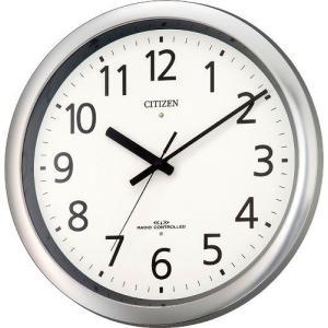 CITIZEN シチズン RHYTHM クロックリズム時計 掛け時計 パルウエーブM437 電波時計 8MY437-019|ginza-sacomdo