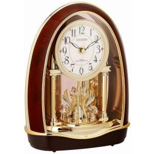 CITIZEN シチズン リズム時計工業 RHYTHM クロック 置き時計 パルドリームR414 電波時計 4RN414-023|ginza-sacomdo