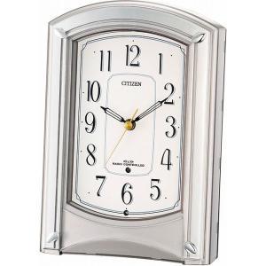 CITIZEN シチズン リズム時計工業 RHYTHM クロック 置き時計 モダンライフ687 電波時計 4RY687-019[4903456168781-4RY687-019]|ginza-sacomdo