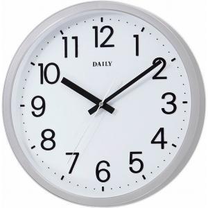 CITIZEN シチズン リズム時計工業 RHYTHM クロック DAILY 見易い スタンダード クォーツ時計 フラットフェイスDN 白文字盤 4KGA06DN19 ginza-sacomdo