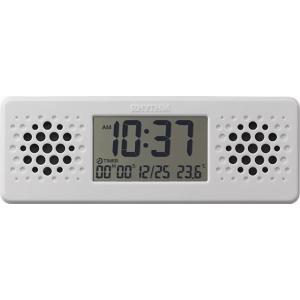 CITIZEN シチズン リズム時計工業 目覚まし時計 デジタル 防水 アクアプルーフミュージック Bluetooth で音楽再生 [4903456207992-8RDA73RH03] ginza-sacomdo