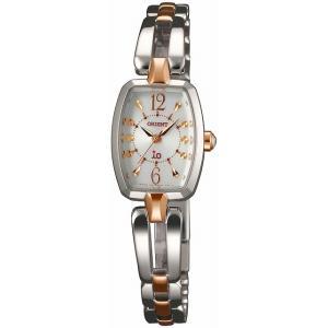 [7年保証][オリエント]ORIENT 腕時計 io イオ スイートジュエリー ソーラー WI0151WD レディース|ginza-sacomdo
