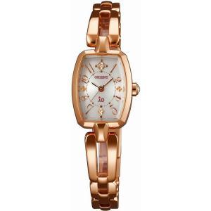 [7年保証][オリエント]ORIENT 腕時計 io イオ スイートジュエリー ソーラー WI0161WD レディース|ginza-sacomdo