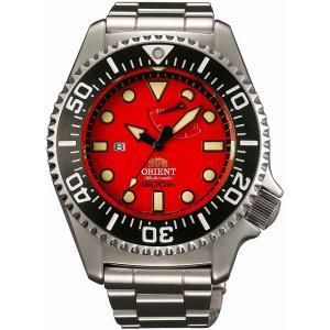 [7年保証][オリエント]ORIENT 腕時計 スポーティー ワールドステージ コレクション 自動巻き (手巻付き) 300m飽和潜水用ダイバー WV0111EL メンズ|ginza-sacomdo