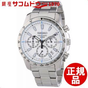 [セイコー]SEIKO 腕時計 クロノグラフ 逆輸入 海外モデル SSB025P1 メンズ 【逆輸入品】 [4954628422477-SSB025PC]|ginza-sacomdo