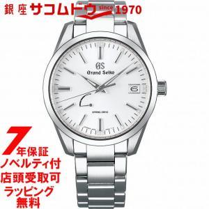 【ロゴ入り折りたたみ傘付き】グランドセイコー SBGA299 GRAND SEIKO 腕時計 メンズ スプリングドライブ  グランドセイコー sbga299 [2017 新作] [送料無料] ginza-sacomdo