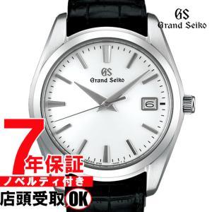 【ロゴ入りコインケース付き】グランドセイコー SBGX295 9Fクオーツ 40mm メンズ 腕時計  GRAND SEIKO 9F62 クォーツ sbgx295  ホワイト ginza-sacomdo