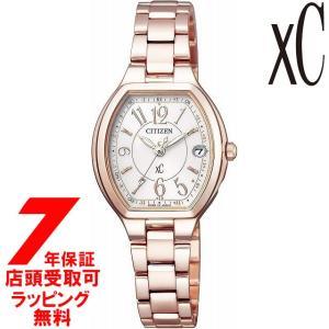 【ノベルティ付き】[7年保証] CITIZEN 腕時計 xC クロスシー エコ・ドライブ電波時計 HAPPY FLIGHT ES9362-52W レディース [4974375471139-ES9362-52W]|ginza-sacomdo