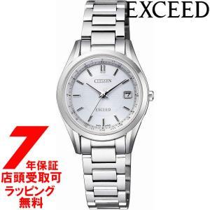 [7年保証] [シチズン]CITIZEN 腕時計 EXCEED エクシード エコ・ドライブ電波時計 ペア ES9370-54A レディース [4974375471542-ES9370-54A]|ginza-sacomdo