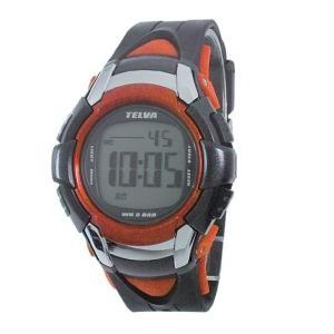 [テルバ]TELVA 腕時計 クロノグラフ デジタル メンズウォッチ TEV-2507-RD レッド メンズ|ginza-sacomdo