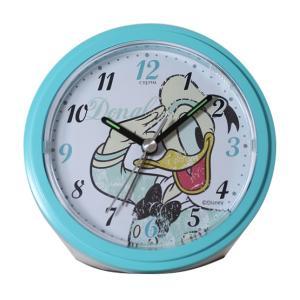 DISNEY(ディズニー) アナログ目覚まし時計 ドナルド ブルー DIA-5546-3DL|ginza-sacomdo