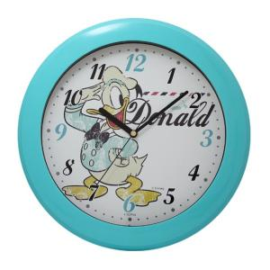 CREPHA クレファー Disney ディズニー 掛け時計 ドナルド ブルー DIC-5031-3DL|ginza-sacomdo