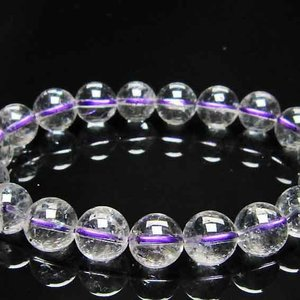ブ ルーストロベリークォーツ水晶 ブレスレット 11mm l352-118|ginza-todo