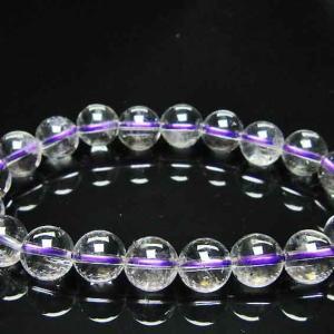 ブ ルーストロベリークォーツ水晶 ブレスレット 10mm l352-126|ginza-todo