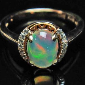 プレシャスオパール 指輪 l388-140|ginza-todo